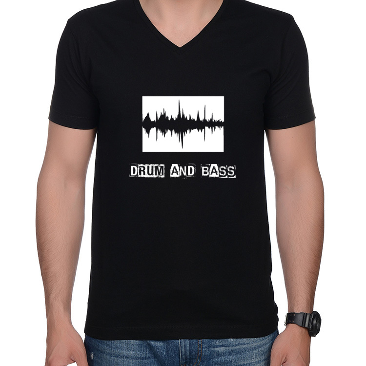 T-shirt V Drum and Bass